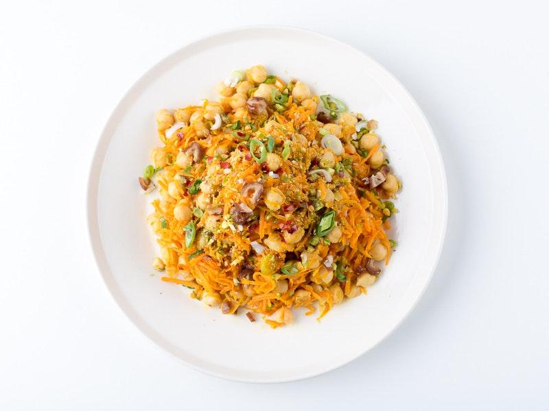 Corp marrakesh carrot salad overhead.jpg?ixlib=rb 0.3.4&sharp=10&vib=10&gam= 5&auto=format&ch=width%2cdpr&dpr=2